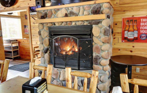 Beautiful and comfortable restaurant interior.