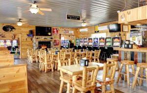 You will love the interior of the Ice Cracking Lodge.