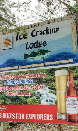 Enjoy great food, service, and beverages at the Ice Cracking Restaurant.