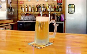 Enjoy great drinks and amazing food at the Ice Breaking Lodge Happy Hour.