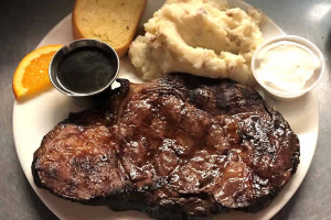 Great steak specials at the Ice Cracking Lodge in Ponsford, Minnesota.