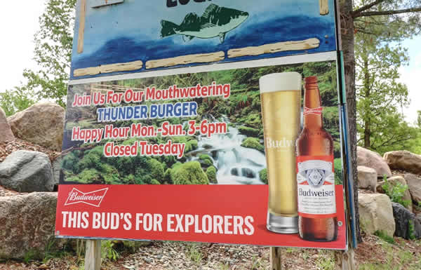 Enjoy Happy Hour at the Ice Cracking Lodge