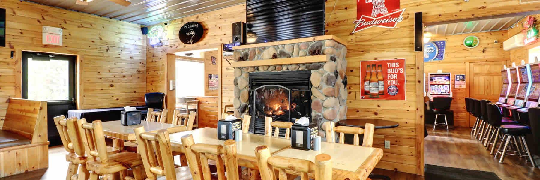 Enjoy great Prime Rib at the Ice Cracking Lodge.